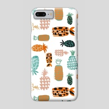 Crazy Pineapples - Phone Case by 83 Oranges