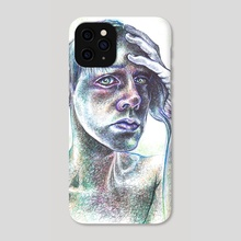 Sorrow - Phone Case by Cristina Pacheco