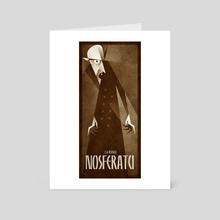 Nosferatu 1922 - Art Card by Gregory Sokol