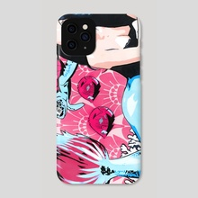 Mermaid with Sea Turtle - Phone Case by Noah Finlay Klein