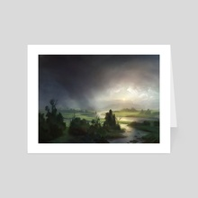 Plains (Innistrad) - Art Card by Adam Paquette