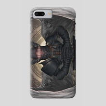 Dark Knight Angel - Phone Case by Shaun Kelly