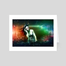 You R My Space DJ - Art Card by Vanja Rancic