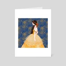 Chrysanthemum - Art Card by Tia Christine