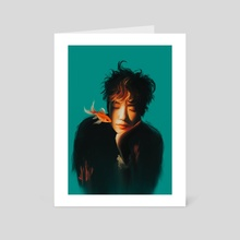 Jaehyun x goldfish  - Art Card by Taemintbonbon