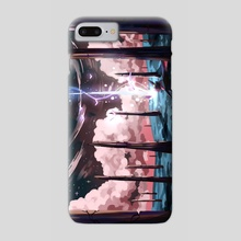 The Fallen Star - Phone Case by Ark Revner