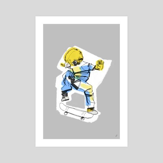 Skate Bird 2 by Dirk Oberländer