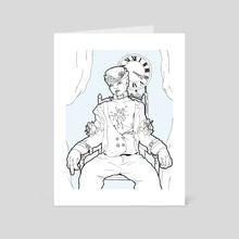 Ma Poupee - Art Card by Lydja Uta Szatkowska