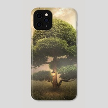 tree light - Phone Case by Even Liu