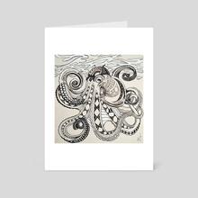 Hank - Art Card by Kristina Thalin