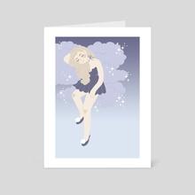 dreaming / dusk - Art Card by JK  ミ★