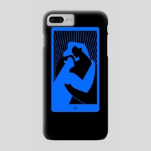 The Lovers - Phone Case by Catalina Parra