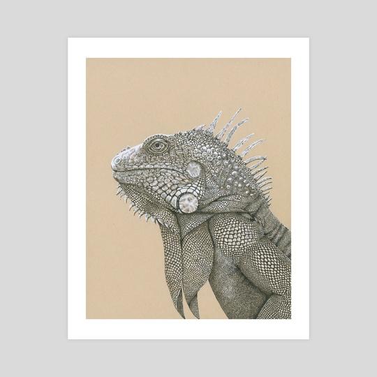 Iguana Have Fun by Cora Speidel