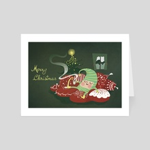 Merry Christmas! - Art Card by Frame25lab