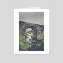 Fairy Bridge - Art Card by Miranda Moorhead