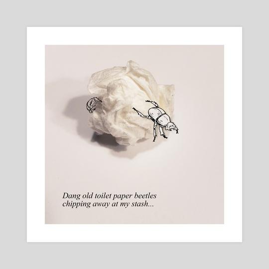Toilet Paper Beetles by Moosey Lips