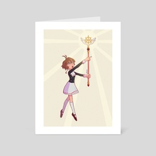 Clear Card Sakura - Art Card by Raquel Teixeira