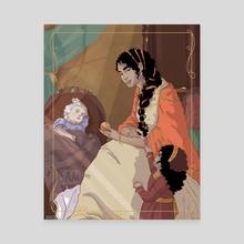 Princess of Dorne  - Canvas by Sam_Artworks