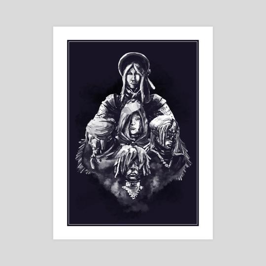 Maidens by Paul Geronimos