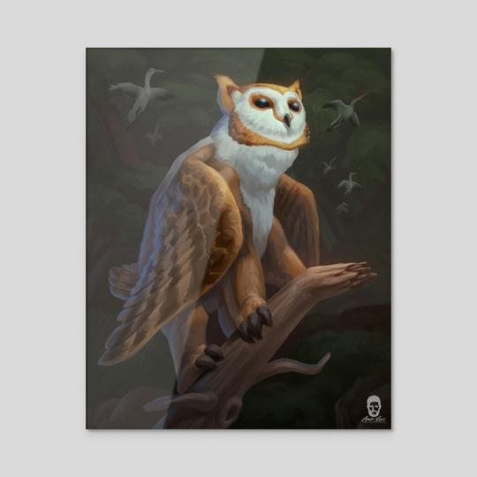The Owlbear by Amir Levi