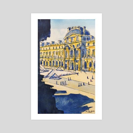 Louvre, Richelieu Wing by Tim Bennison