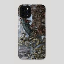 Battle of the Dragon Gate - Phone Case by Daniel Mitchell