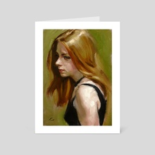 Flaxen - Art Card by John Larriva