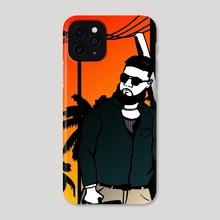 Sunset Hustle #1 - Phone Case by Maverick Chavaria
