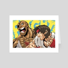 FIGHT! - Art Card by Steve Myers