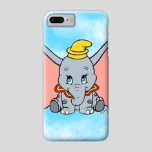 Flying Elephant - Phone Case by Nayeli Benitez