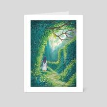 Secret Garden - Art Card by Tara Aka Balefyren pokora