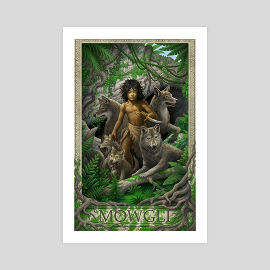 The Jungle Book- Mowgli by daniel warren