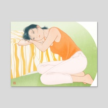 Saki - Acrylic by Sai Tamiya