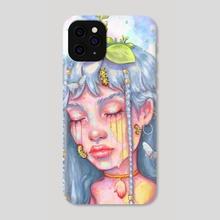 Caterpillar  - Phone Case by Jane Koluga