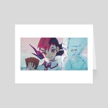 Yuma&Astral - Art Card by Akiko_141