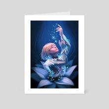 Agape - Art Card by Munette