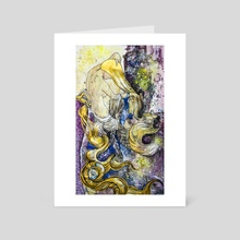 Gold1 - Art Card by Sorina-Nicoleta Grati