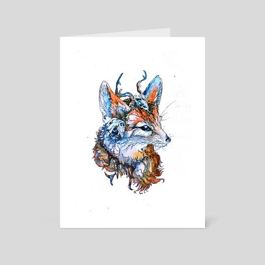 Fox Companion by Frederika Valova