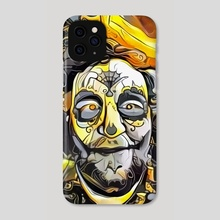 Halloween face - Phone Case by Bruce Rolff