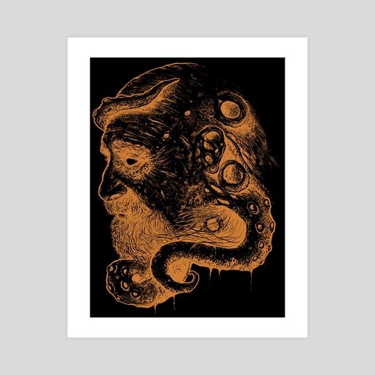Poseidon - 100 Black Limited Edition by Kacper  Gilka