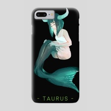 TAURUS - Phone Case by Elsa M.