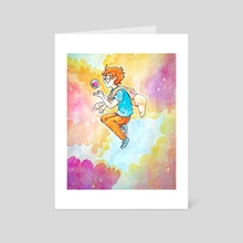 dear happy - Art Card by isa