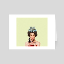 Tammie Brown Portrait - Art Card by Alexis Toumazis