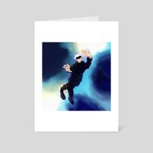 hollow purple - Art Card by kill ۵