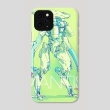 Mantis - Phone Case by Brian Sum