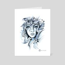 Profondeur - Art Card by MiL Et Une