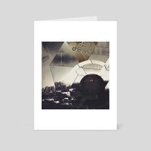Metropolis I - Art Card by Caroline Roberti