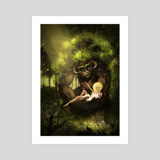 Forest Love by Ruben  Matevosyan