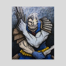 Cable - Canvas by Chris Panila