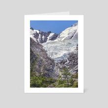 Huemul Glacier, Patagonia, Argentina - Art Card by Daniel Ferreira Leites